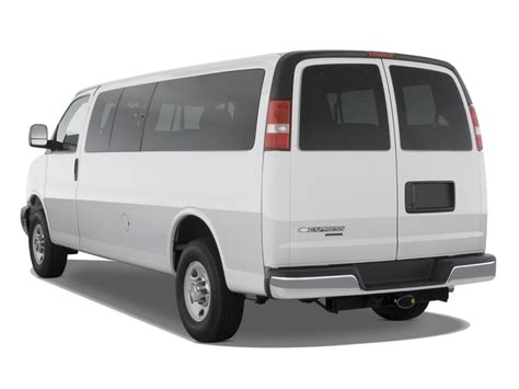electric and cars manual 2007 chevrolet express 3500 electronic toll collection image 2010 chevrolet express passenger rwd 3500 155 quot ls angular rear exterior view size 1024