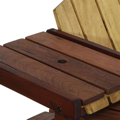 solid wood outdoor bench quot taja quot outdoor bench in solid brazilian wood by sergio