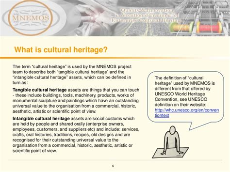 What Is Intangible Cultural Heritage Intangible | heritage management learning module