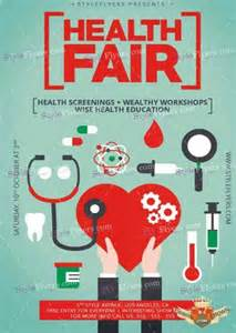 health fair psd v6 flyer template