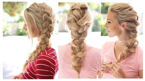 hairstyles easy and beautiful pretty braids hairstyles fade haircut
