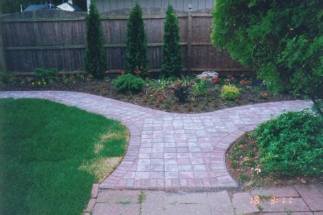 all landscaping walkways