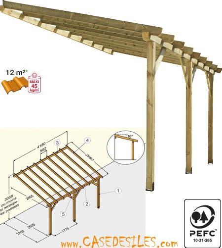 Attached Carport Ideas garten moy abri terrasse bois a pas cher abri de terrasse