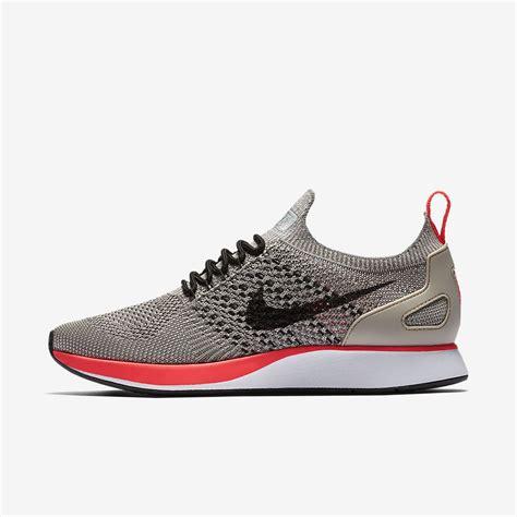 Sneakers Sepatu Nike Airforce Flyknit Racer Black White Premium nike air zoom flyknit racer s shoe nike gb