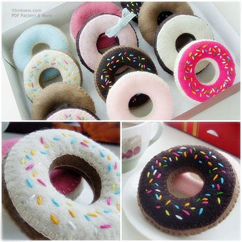 felt donut pattern 47 felt duncan donut pdf pattern felt pinterest