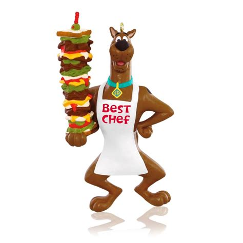 2015 scooby doo best chef hallmark keepsake ornament - Scooby Doo Ornaments