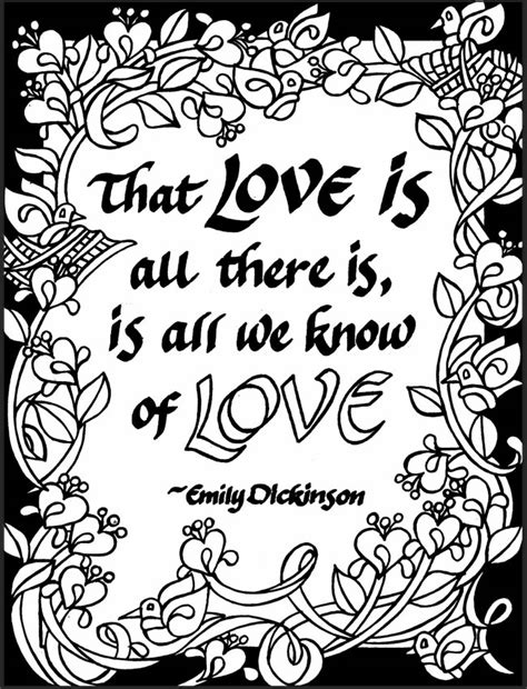 book quotes colouring book books 07x love 05