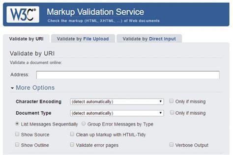 html validation w3c alles paletti ist deine website valide barrierefrei