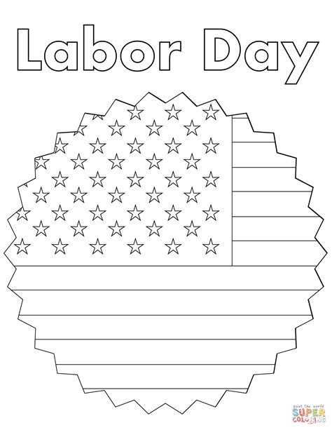 printable coloring pages labor day labor day coloring page free printable coloring pages