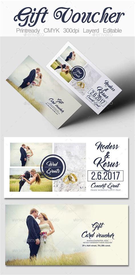 Wedding Gift Design by Wedding Gift Voucher Template Template Print Templates