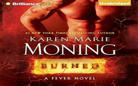 burned a fever novel burned audiobook by moning review listens