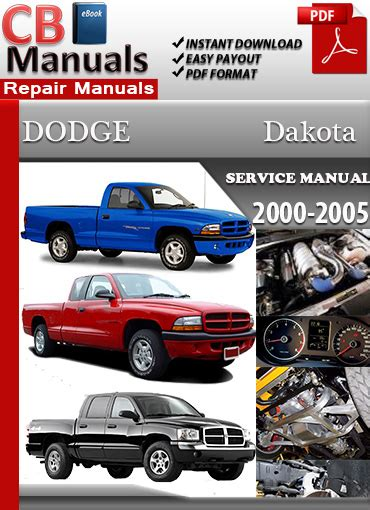 car repair manuals download 2005 dodge dakota engine control dodge dakota 2000 2005 service repair manual ebooks automotive
