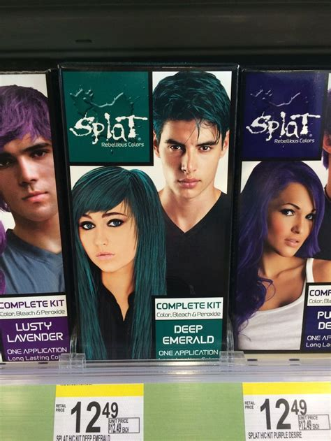 splat midnight gives you crazy hair colors of your dreams new hair splat live hair color kit review glam radar of