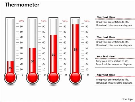 7 Thermometer Template Excel Exceltemplates Exceltemplates Excel Thermometer Template