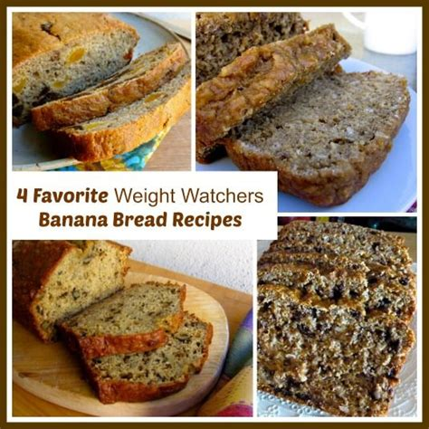 banana bread weight watchers recipe 7 best images about weight watcher meals on