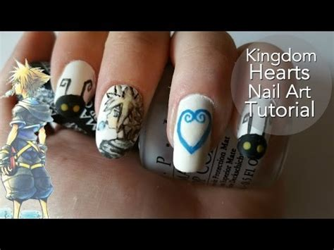 jessie nail art tutorial kingdom hearts nail art tutorial jessie ginger