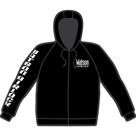Hoodie Logo Go 1 logo hoodie watson airlock