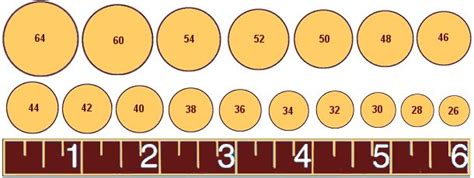 printable circular ring size chart cigar sizes how to select the proper ring gauge and length