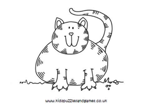 coloring page fat cat fat cat colouring pages sketch coloring page