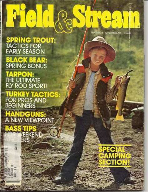 Field And Stream Gift Card - vintage field and stream magazine may 1978