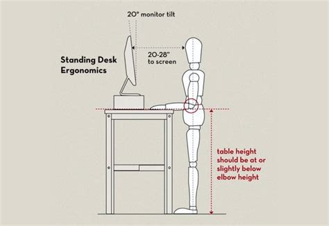 optimal standing desk height 5 things you re doing at your standing desk