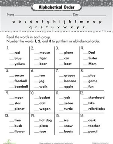 Abc Order Worksheets For 1st Grade by 53 Best Images About Teaching Spelling On Kindergarten Worksheets Literacy
