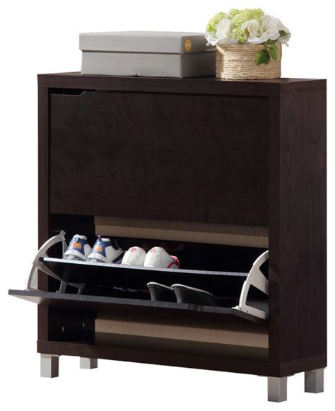 Modern Shoe Closet by Simms Brown Shoe Cabinet Modern Shoe Storage