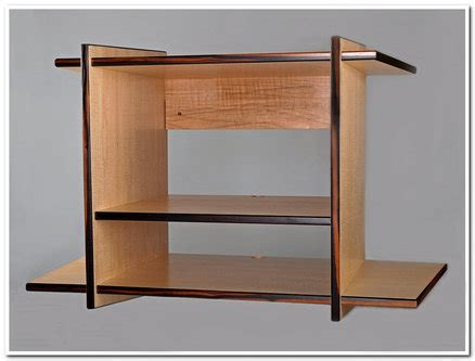 wall mounted stereo cabinet curly maple wall hung stereo cabinet by don kondra