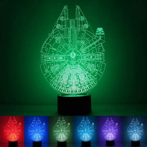 star wars led light star wars death star 3d led night light touch switch table
