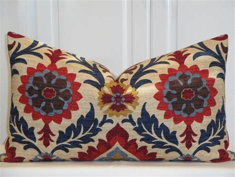Navy And Brown Throw Pillows 17 Best Images About Suzani On Pomegranates
