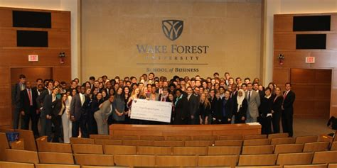 Forest Mba Closing by Ma Business Students Raise 20 000 For Forsyth Backpack