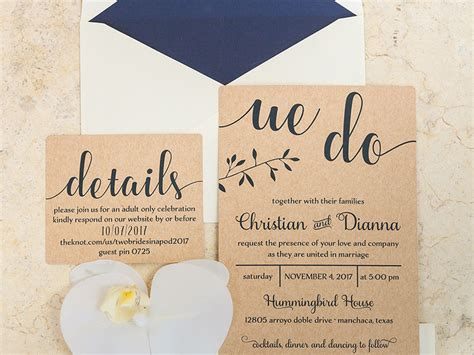modern rustic wedding invitation wedding invitations and the hill country