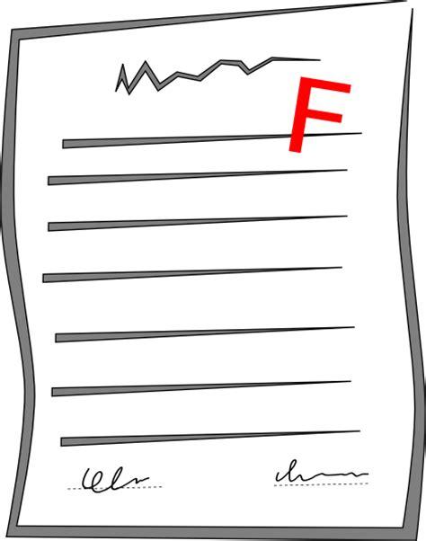 Failing Grades Essay by Failed Paper Clip At Clker Vector Clip Royalty Free Domain