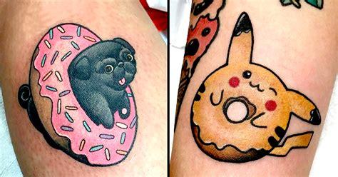 dolorosa tattoo 19 insanely adorable donut tattoos done at dolorosa