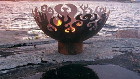 feuerstellen metall etwas ausgefallene ideen f 252 r eine feuerstelle aus metall