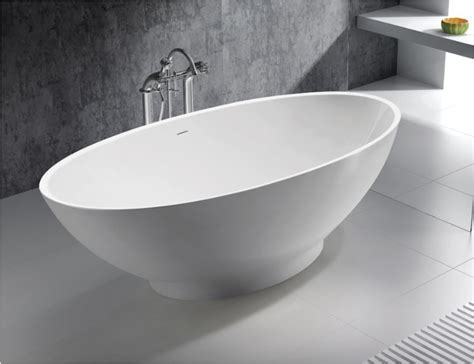 solid surface bathtubs aurillac solid surface modern bathtub 71 quot