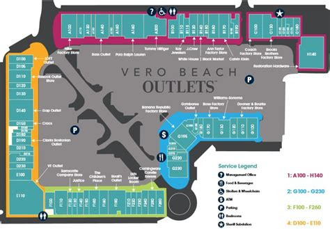 Kitchen Collection Outlet Store map for vero beach outlets map vero beach fl