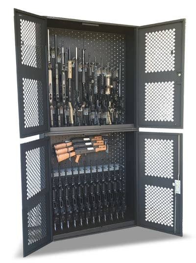 Metal Security Gun Cabinets   Weapon Storage Locker