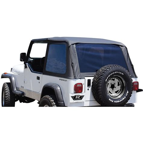 1992 Jeep Wrangler Top Rage Soft Top Kit New Jeep Wrangler 1992 1995 109435 Ebay