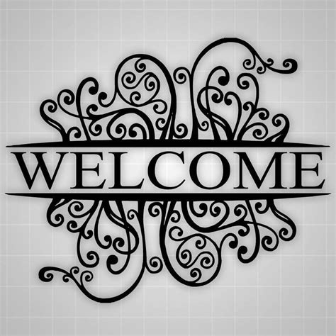 welcome wall sticker welcome wall decal welcome decor decorative sticker 26 quot x20 quot ebay