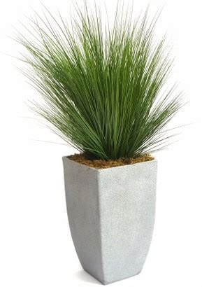 artificial ft grass plant potted grass plant