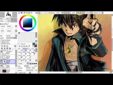 paint tool sai review paint tool sai ebenen hilfslinien outlines coloration
