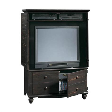 Tv Armoire by Distressed Antique Paint W Adjustable Shelves Tv Armoire