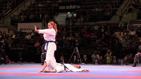 spain female team kata kata annan bronze fight