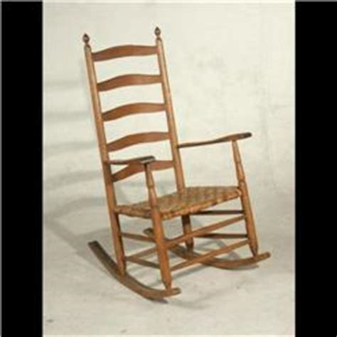 antique shaker chairs value antique american ladder back shaker rocking chair