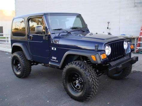 Jeep In Arizona 06 Jeep Wrangler X Tj By Brian H Of Mesa Arizona Quadratec