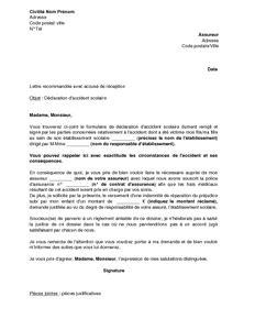 Letter Of Application: Modele De Lettre De Contestation