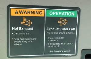 Exhaust System Warning Light Did An Epa Clean Air Regulation Regeneration Cost A