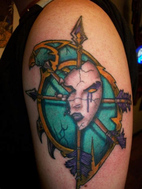world of warcraft tattoo 10 best images about on crests