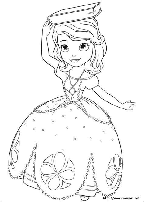 imagenes para pintar sofia dibujos para colorear de la princesa sofia